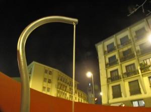 Fontana nuova di piazza Antonelli
