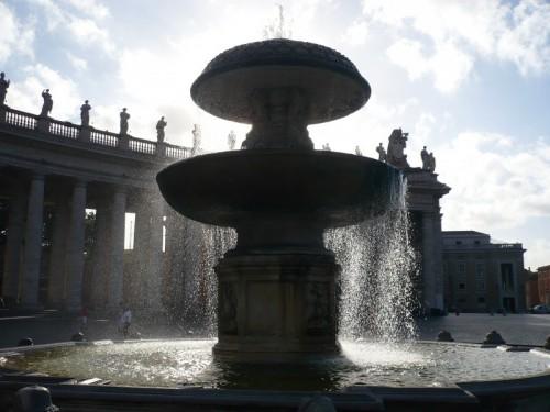Roma - San Pietro - fontana