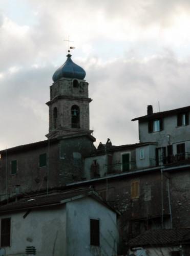 Agosta - Il Campanile della Chiesa Santa Maria Assunta - Agosta