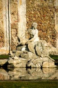 Fontana settecentesca del parco del castello