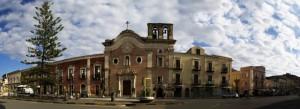 MIlazzo, chiesa del Carmine (panoramica)