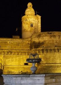 Vasto, Fontana nella piazza principale