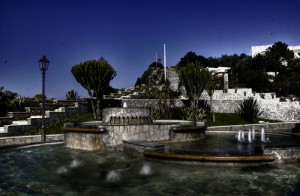 Milazzo, fontana nel centro storico