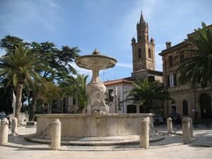 La fontana di piazza Piè di Corte