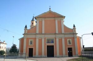 La chiesa di Brugneto