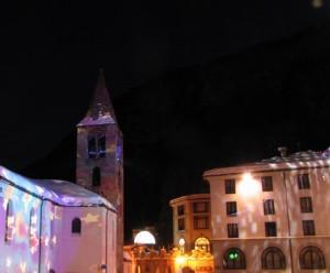 piazza di sera