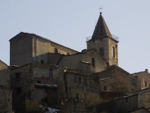 Chiesa parrocchiale vista dal basso