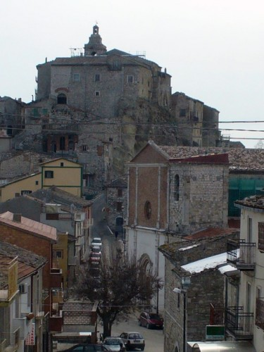 Limosano - vista delle 2 chiese