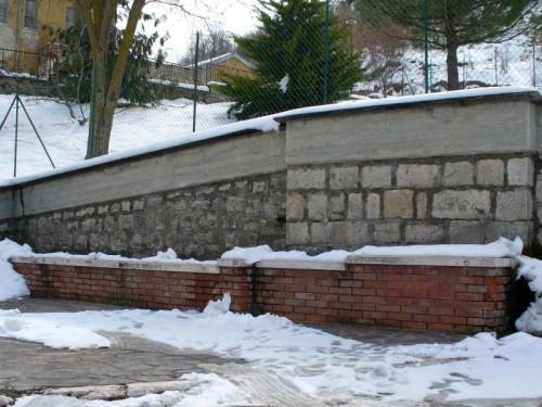 San Biase - Fontana a mattoni