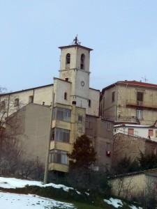 Chiesa parrocchiale dal basso