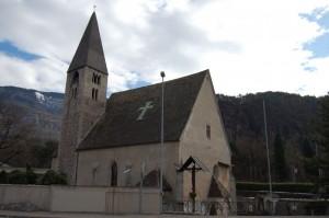 la chiesa del cimitero
