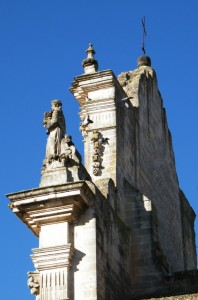 Vista laterale su S. Francesco d'Assisi