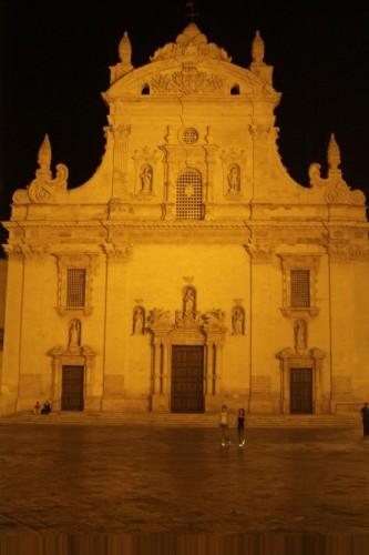 Galatina - Chiesa San Agostino di notte