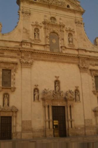Galatina - Chiesa San Agostino -facciata