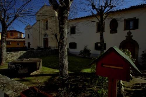 Cavriglia - Pieve di s. Giovanni Battista  (ved. Laterale)