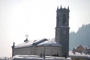 la chiesa di Breguzzo