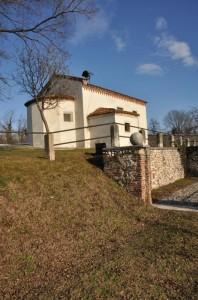 Chiesetta di S.Pietro in Castelvecchio - Fianco