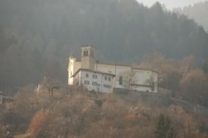 la chiesa di Castel Condino