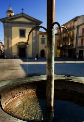 Terranuova Bracciolini - Fontana in Piazza della Repubblica