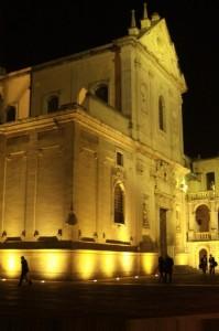 Duomo,Arcivescovato e relativa Piazza di notte