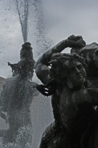 Evacuate Planet Earth Before It Is Recicled - (Fontana delle Naiadi)