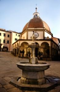 La fontana a Poppi