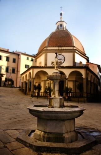 Poppi - La fontana a Poppi