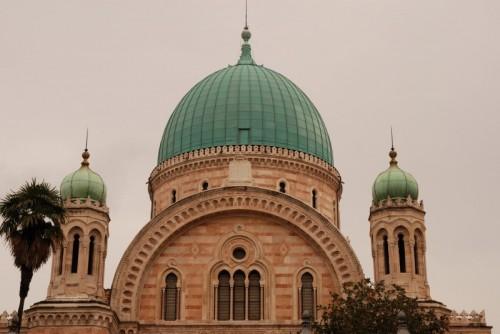 Firenze - Particolare della Sinagoga