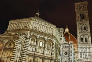 Piazza del Duomo in notturna