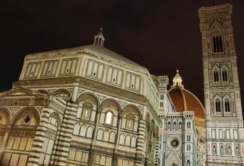 Firenze - Piazza del Duomo in notturna