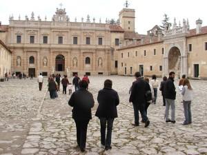 Certosa di Padula -Cortile d'ingresso