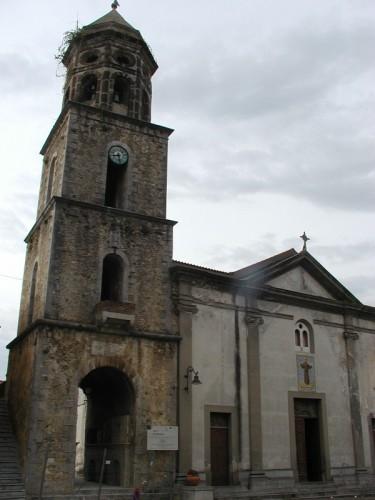 Torre Orsaia - Chiesa Parrocchiale con campanile