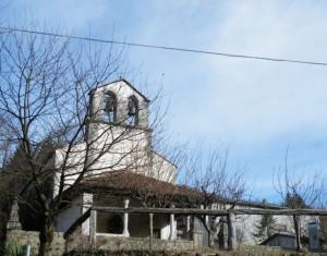 chiesetta in frazione di Pulfero