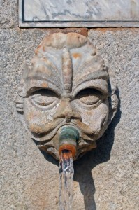 Fontana Vecchia, particolare