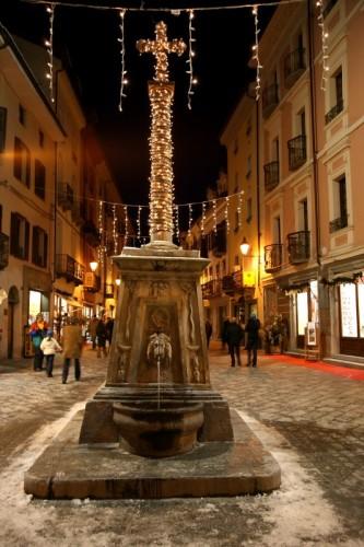 Aosta - fontanella di Via Croce di Città