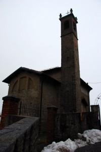 Chiesa S.Michele -Vista dietro-