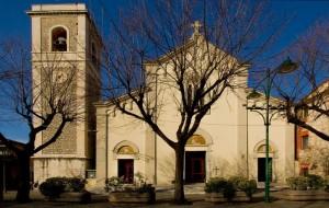 La chiesa del Forte dei Marmi