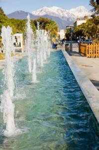 La fontana del Forte dei Mrmi