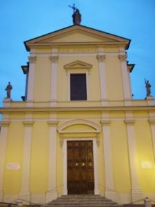facciata della parrocchiale di collebeato