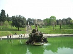 Giardino di Boboli a Firenze, la fontana del Nettuno