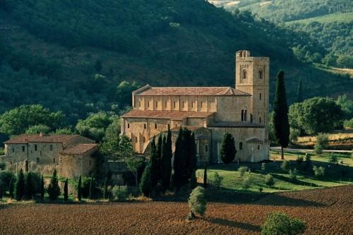 Montalcino - Abbazia di S. Antimo