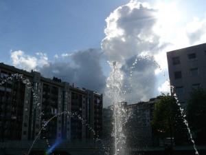 zampilli su…nel cielo tra le nuvole