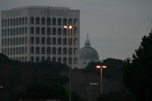 Cupola della Basilica S.S. Pietro e Paolo - Eur
