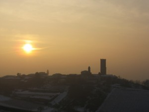 Tra la nebbia e l'ultimo sole