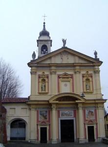 chiesa vicino al castello di barengo