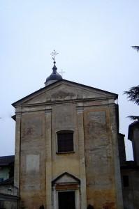 chiesa di cavaglietto,purtroppo un po' in degrado..