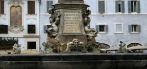 Fontana in piazza della Rotonda