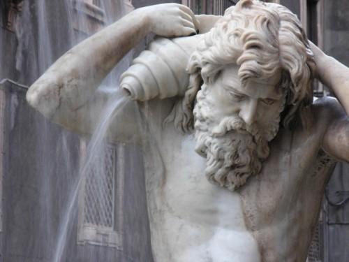 Catania - Fontana dell'Amenano, particolare