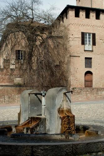 Fontanellato - La fontana del castello