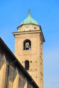La cupola della chiesa